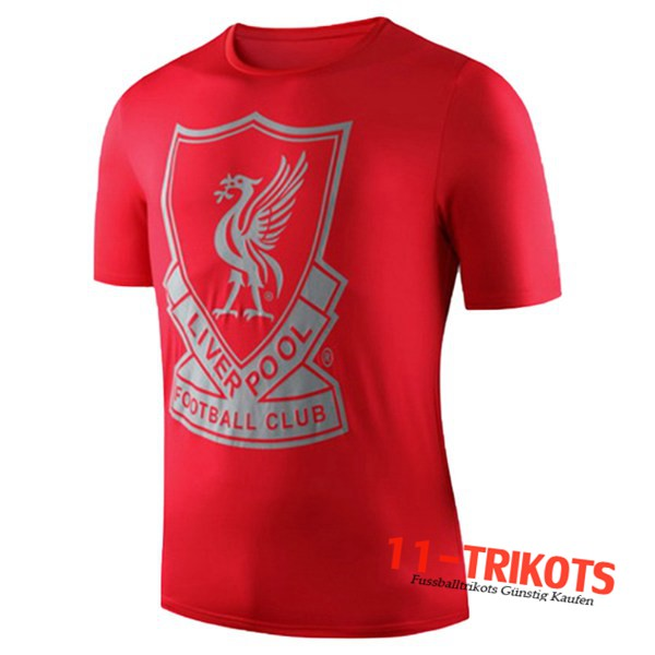 Neuestes Fussball Liverpool Trainingstrikot Rot 2019 2020 | 11-trikots