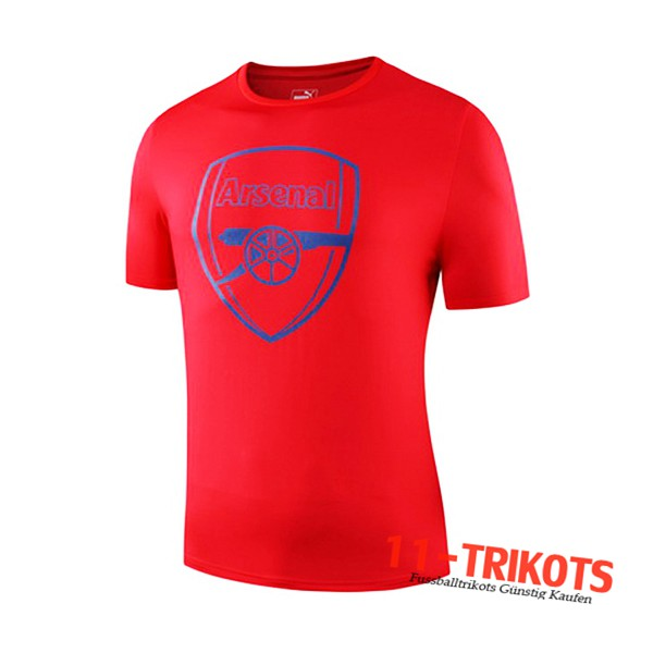 Neuestes Fussball Arsenal Trainingstrikot Rot 2019 2020 | 11-trikots