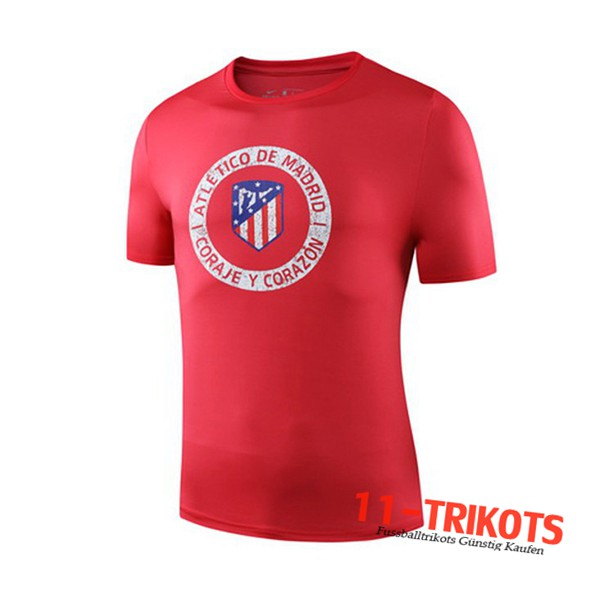Neuestes Fussball Atletico Madrid Trainingstrikot Rot 2019 2020 | 11-trikots