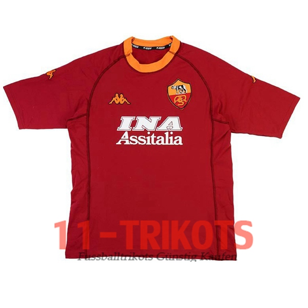 AS Roma Heimtrikot 2000/2001