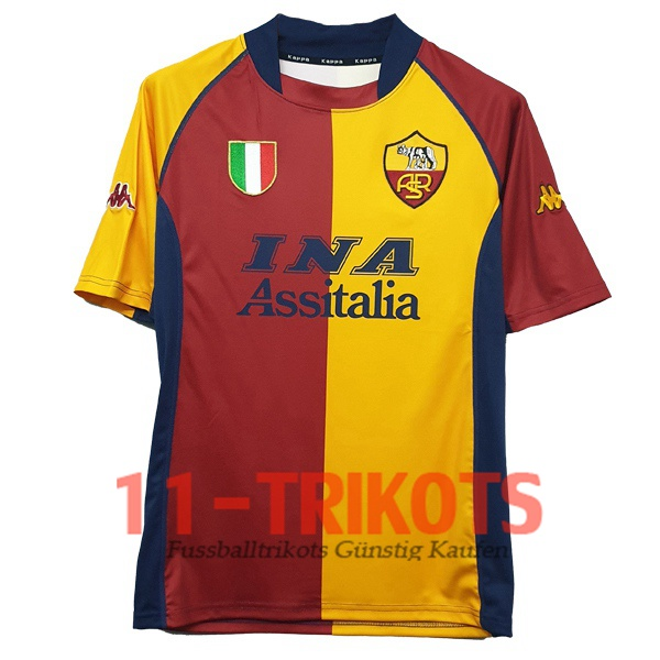 AS Roma Heimtrikot 2001/2002