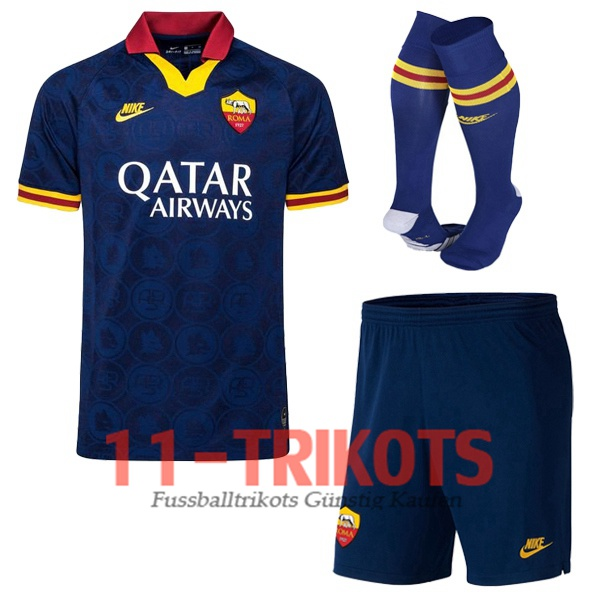 AS Roma Third Trikot + Socken 2019/2020