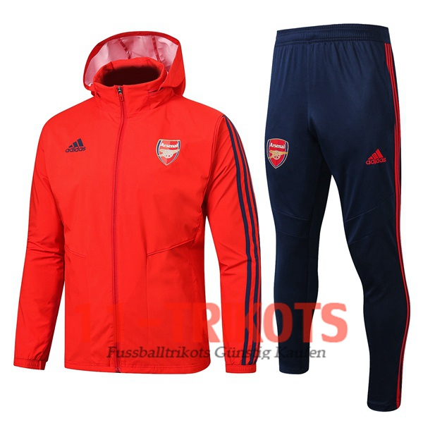 Arsenal Rot Trainingsanzug Windbreaker 2019/2020