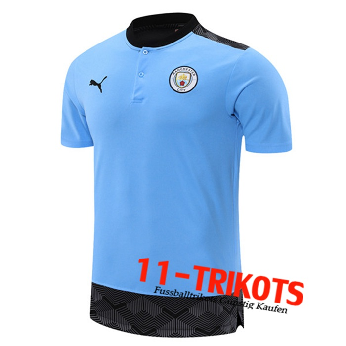 Manchester City Trainingstrikot Blau 2021/2022