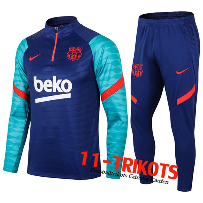 FC Barcelona Trainingsanzug Navy Blau 2020/2021