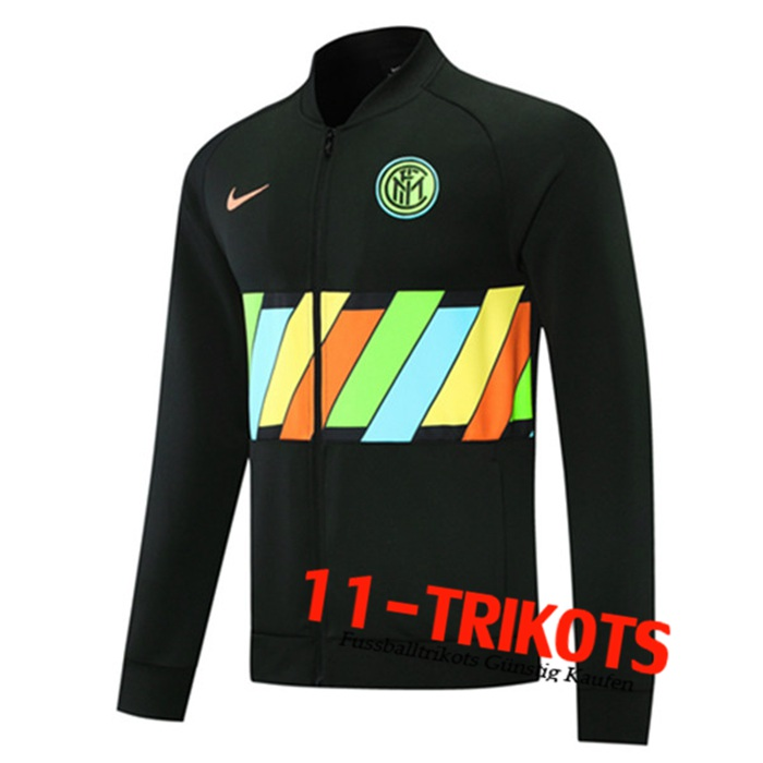Inter Milan Trainingsjacke Schwarz 2021/2022