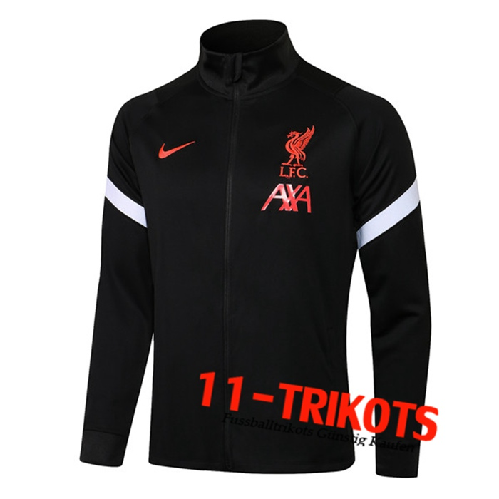 FC Liverpool Trainingsjacke Schwarz 2021/2022