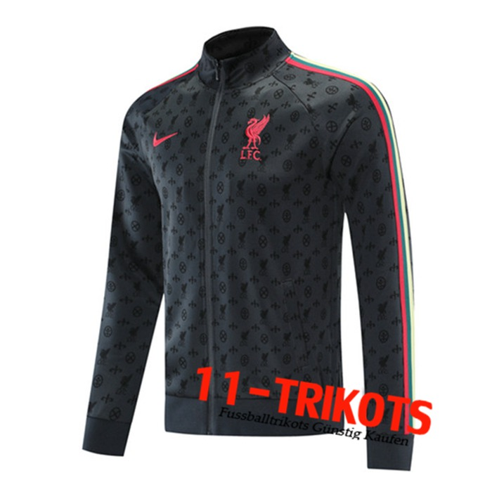 FC Liverpool Trainingsjacke Grau 2021/2022