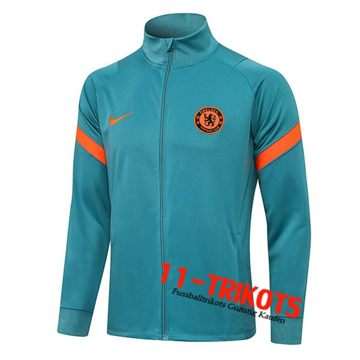 FC Chelsea Training Jacket Grün 2021/2022