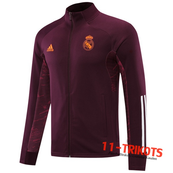 Neuestes Real Madrid Trainingsjacke Violet 2020/2021 | 11-Trikots