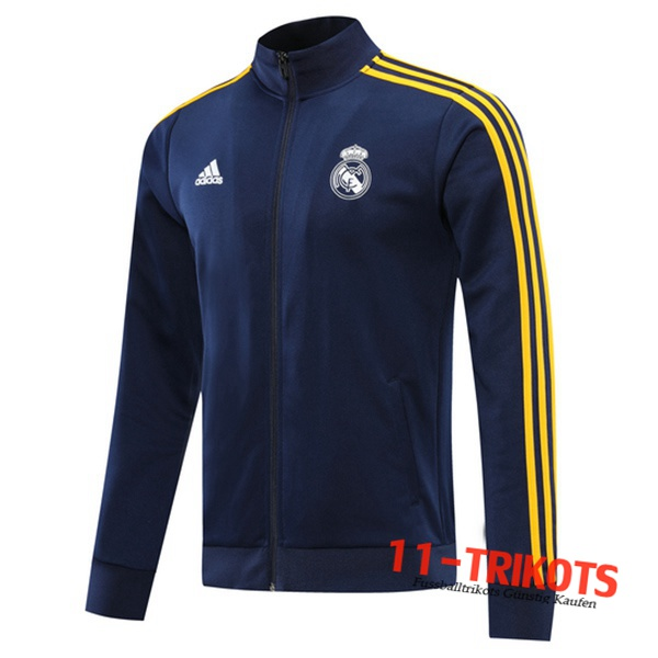 Neuestes Real Madrid Trainingsjacke Blau Marin 2020/2021 | 11-Trikots