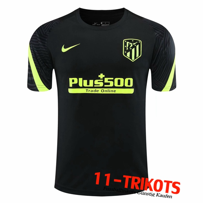 Neuestes Atletico Madrid Trainingstrikot Schwarz 2020/2021 | 11-Trikots