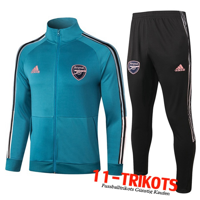 Neuestes Arsenal Trainingsanzug Blau 2020/2021 | 11-Trikots