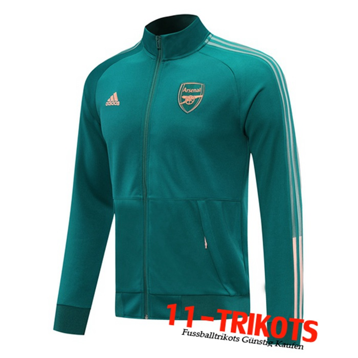 Neuestes Arsenal Trainingsjacke Blau 2020/2021 | 11-Trikots