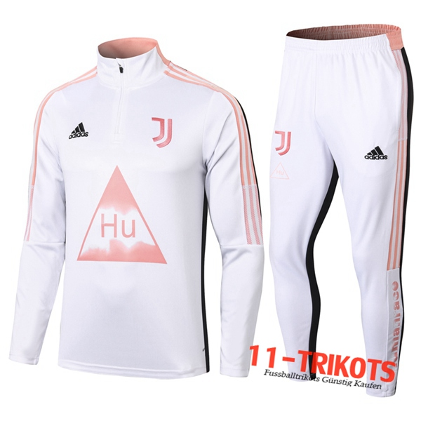 Juventus Trainingsanzug Joint Edition Weiß 2020 2021 | 11-trikots