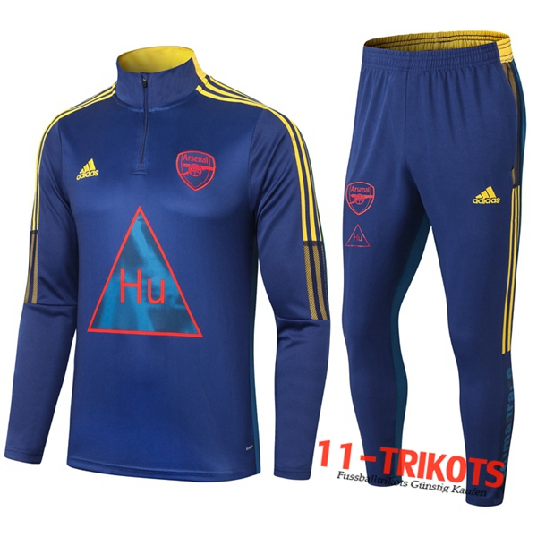 Arsenal Trainingsanzug Joint Edition Blau 2020 2021 | 11-trikots