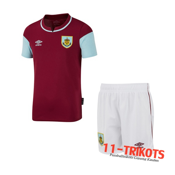 Fussball Burnley Kinder Heimtrikot 2020 2021 | 11-trikots
