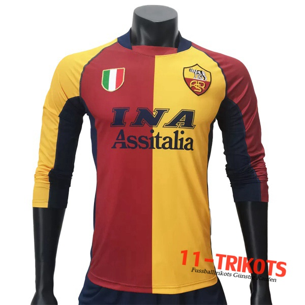 AS Roma Retro Heimtrikot 2001/2002