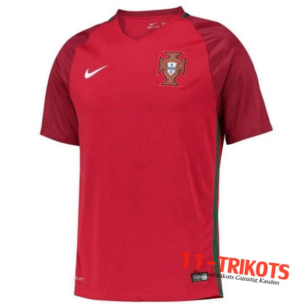 Portugal Retro Heimtrikot 2016