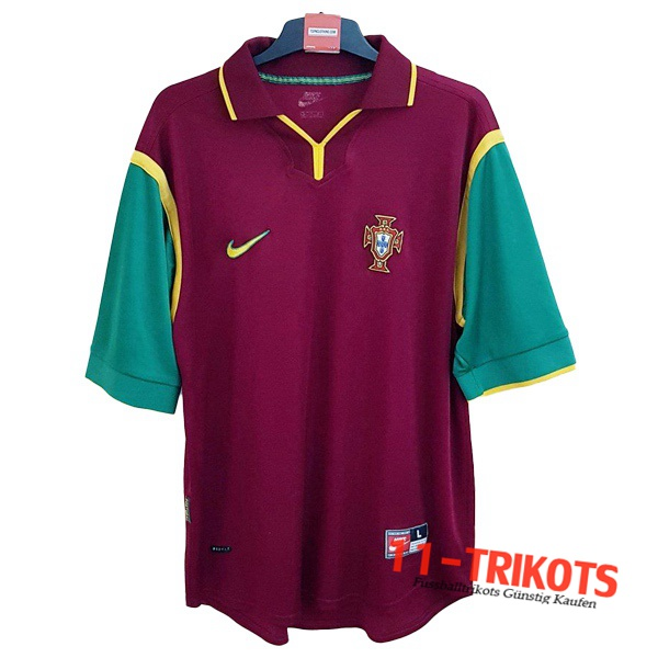 Portugal Retro Heimtrikot 1999/2000