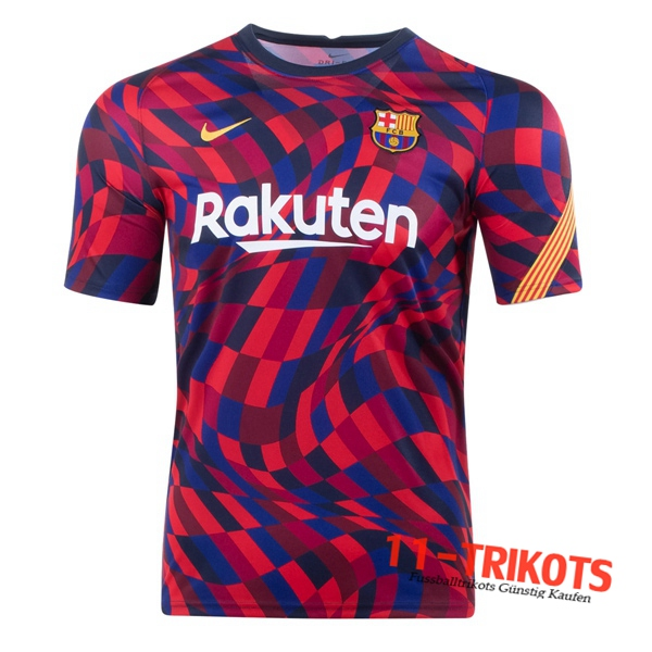 FC Barcelona Trainingstrikot Rot 2020/2021