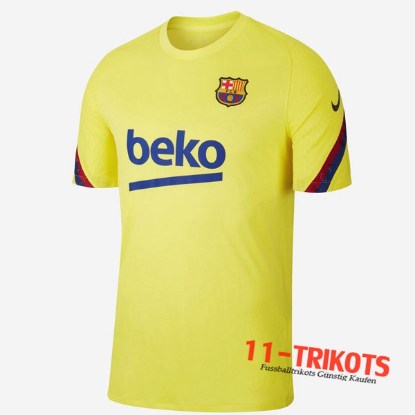 FC Barcelona Trainingstrikot Gelb 2020/2021
