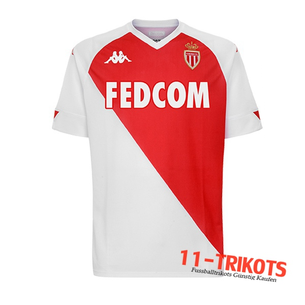 Neues Fussball AS Monaco Heimtrikot 2020 2021 | 11-trikots