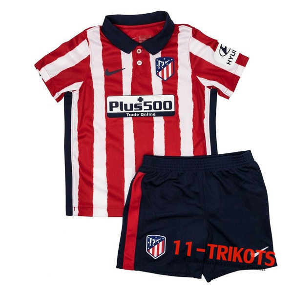 Neues Fussball Atletico Madrid Kinder Heimtrikot 2020 2021 | 11-trikots