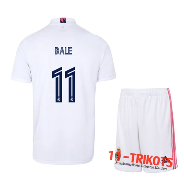 Fussball Real Madrid (BALE 11) Kinder Heimtrikot 2020 2021 | 11-trikots