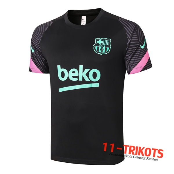 FC Barcelona Trainingstrikot Schwarz 2020/2021