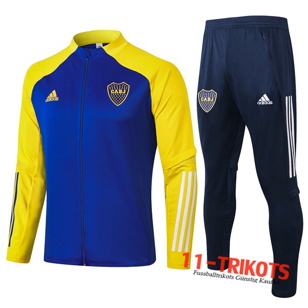 Boca Juniors Trainingsanzug (Jacke) Blau 2020 2021 | 11-trikots