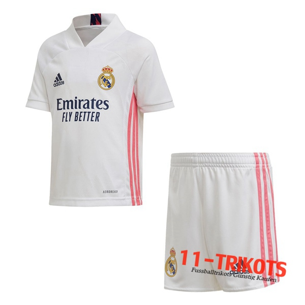 Neues Fussball Real Madrid Kinder Heimtrikot 2020 2021 | 11-trikots