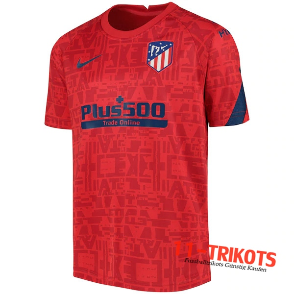 Atletico Madrid Trainingstrikot Rot 2020/2021
