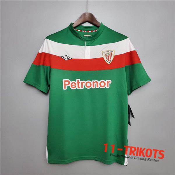 Neuestes Fussball Athletic Bilbao Retro Heimtrikot 2011/2012