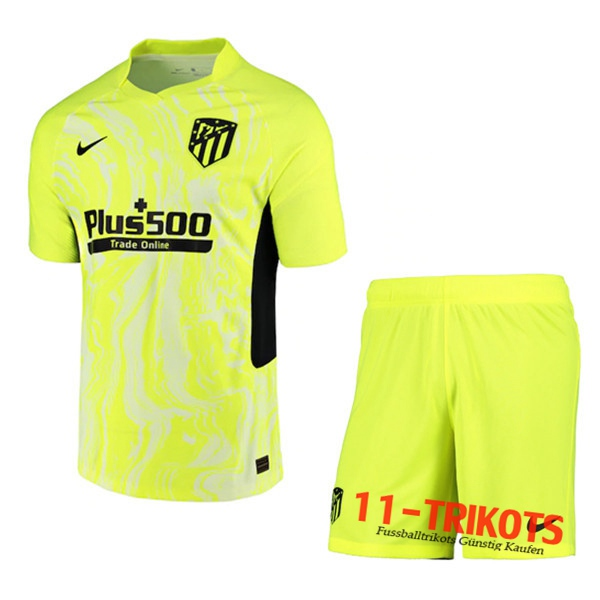 Neuestes Fussball Atletico Madrid Kinder Third 2020 2021 | 11-trikots